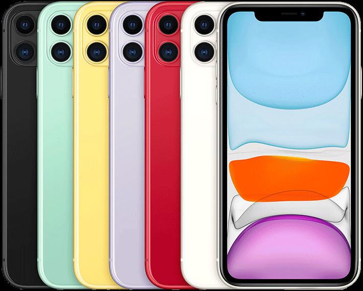 گوشی موبایل اپل مدل IPHONE 11 ظرفیت ۱۲۸ گیگابایت